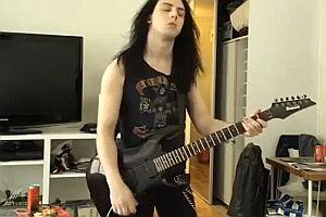 Gitarrensolo mit abrupten Ende