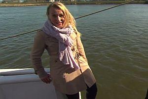 Ein Interview fällt ins Wasser
