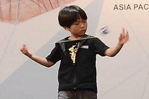 Japanischer Jo-Jo Junge