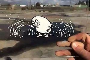 Coole Animationen auf Folie