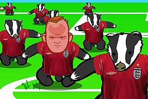 Realistic Football Badgers