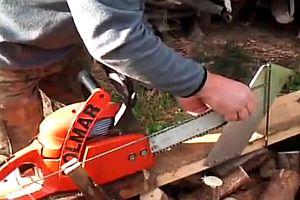 Brennholz mit Eigenkonstruktion