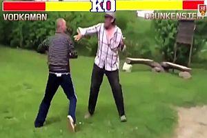 Betrunkene Street Fighter