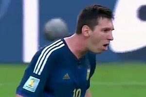 Messi kotzt ab