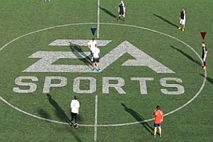 Fußballspiel im Look vom FIFA-Videospiel