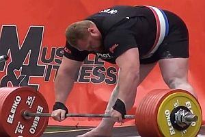 Weltrekord im Kreuzheben