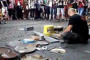 Street Techno Drummer