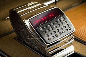 Hewlett-Packard Uhr von 1977