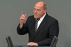 Gregor Gysi ist gegen Schäubles Mautplan