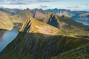 Norwegen im Zeitraffer