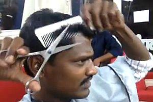 Sich selbst die Haare schneiden