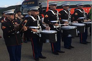 Drum Battle - USA gegen Südkorea