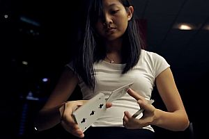 Kartenjongleure aus Singapur