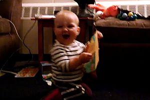 Baby tanzt den Hamster Dance