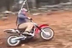 Motorradschaukel