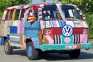 VW Bulli Wintermantel