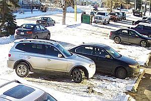 Verdammt schlecht ausparken