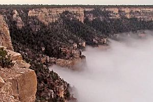Wolken im Grand Canyon