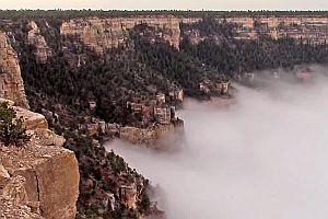 Wolken im Grand Canyon