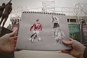 Cristiano Ronaldo Sketchbook Animation