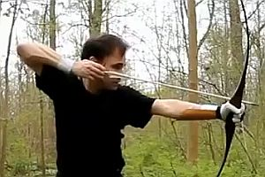 Bogenschießen wie in alten Zeiten