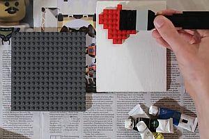 Malen mit Lego