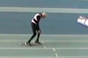 95jähriger läuft Weltrekord auf 200 Meter