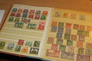 Briefmarkensammlung und Lebensgeschichte