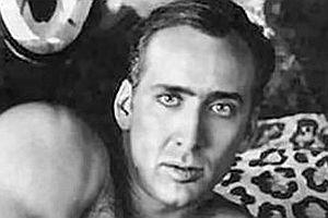 Kissen mit Nicolas Cage