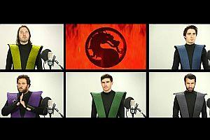Mortal Kombat Titelmusik a cappella
