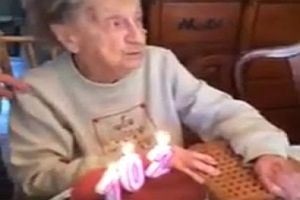 Omas 102. Geburtstag