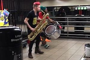 Techno Saxophon