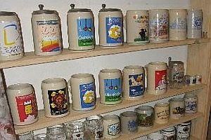 Riesige Bierkrug-Sammlung