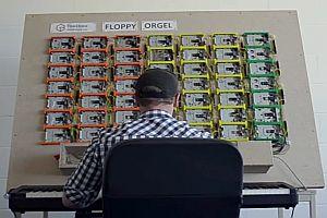 Floppy-Orgel