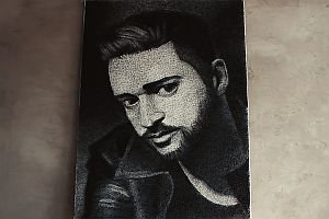String Art Porträt