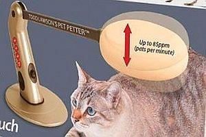 Streichelmaschine für Haustiere