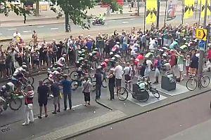 Schwerer Sturz bei der Tour de France