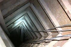 El Chapos Tunnel aus dem Gefängnis