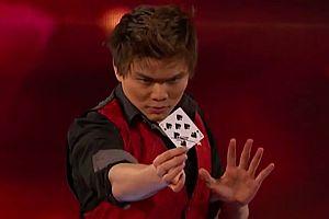 Kartentricks mit Shin Lim