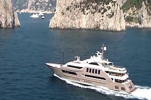 86 Millionen Dollar Yacht