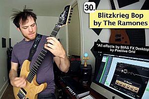 31 Gitarrenriffs in einer Minute