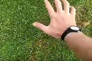 Maulwurf mit der Hand fangen