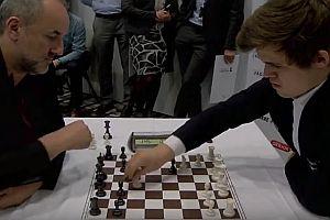 Eine Runde Blitz-Schach
