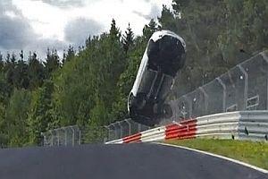 Unfall auf dem Nürburgring