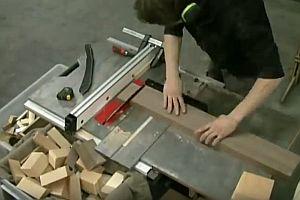 Handgemachte Holzschale