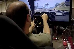 GTA mit einem Fahrsimulator