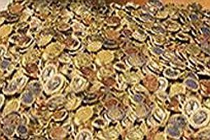 50 Kg Münzen
