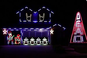 Slipknot Christmas Lights