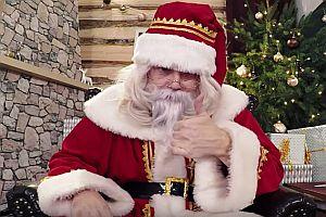 Den Weihnachtsmann gibt es wirklich