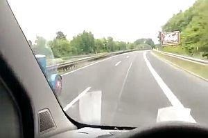 Überholen auf der Autobahn